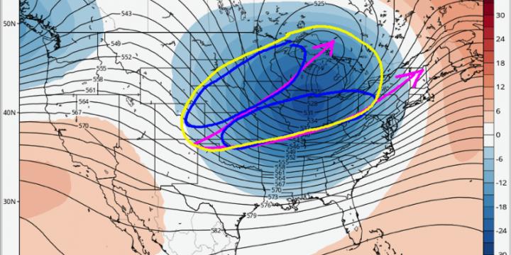#AGwx #Energy A few #Winter storm threats. Very cold next week. Warmer risks late month. M.
