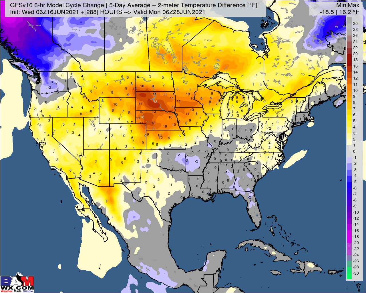 **Special AM AG Update as European comes in after being delayed. Drier trends continue.**